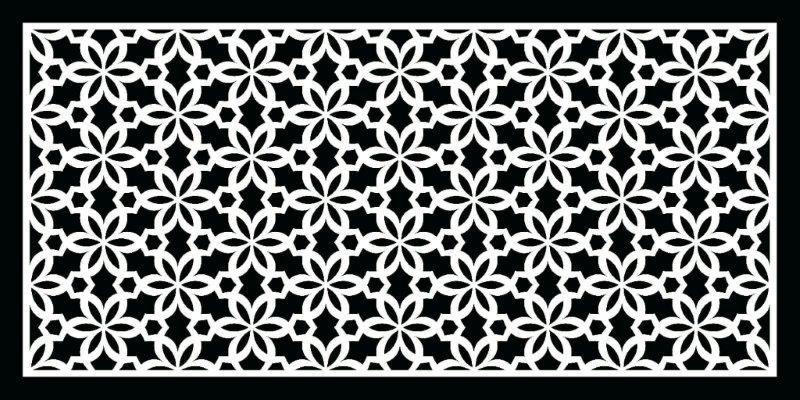 דגם: פרח שחור|לבן